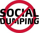 Social Dumping logo ren